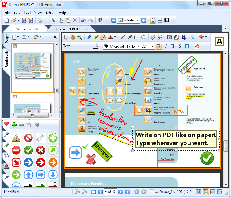 Click to view PDF Annotator 4.0.0.411 screenshot