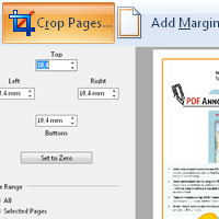 Crop Pages, Add Margins