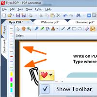 New Toolbar Concept