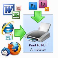 Print to PDF Annotator