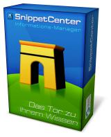 SnippetCenter Informations-Manager - Das Tor zu Ihrem Wissen!